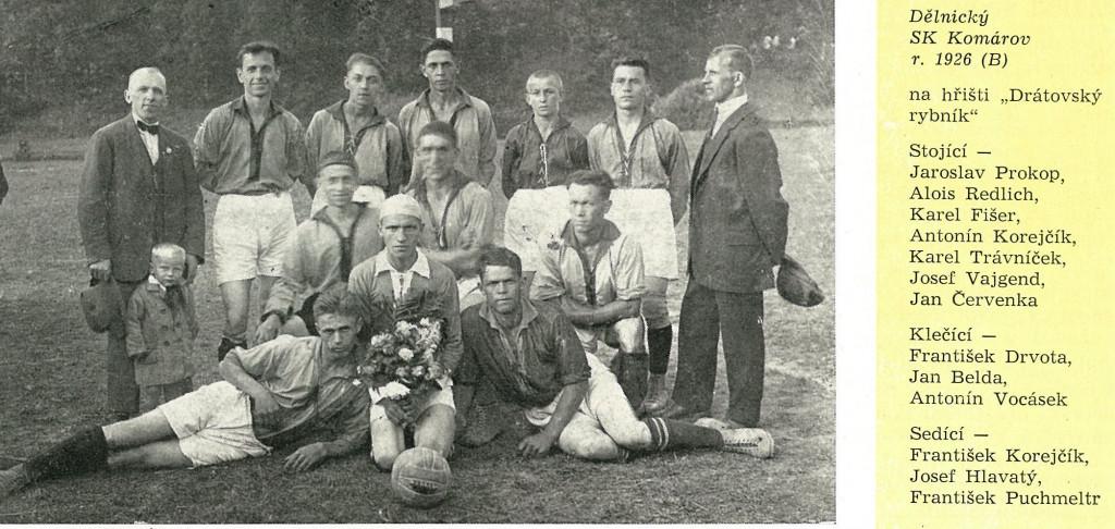 1926 B mužstvo