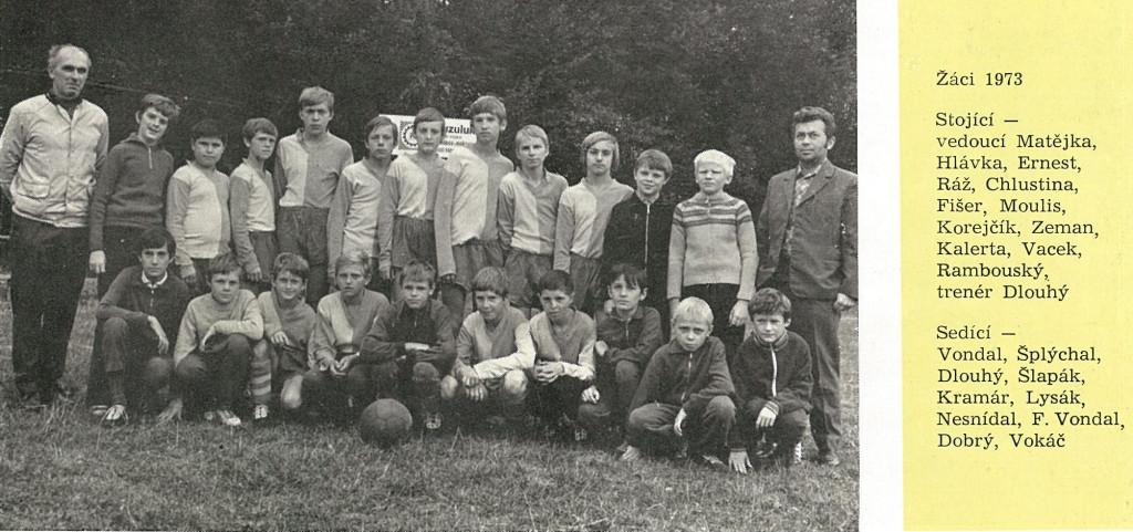 žáci 1973