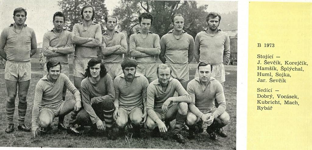 1973 B mužstvo