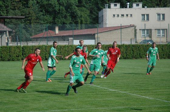 """FK Komárov """"A"""" - TJ Tatran Sedlčany"""