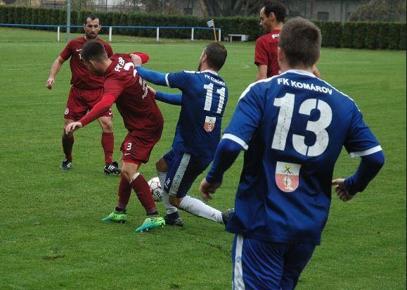 """FK Komárov """"A"""" - SK Petřín Plzeň"""